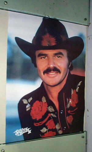 BURT REYNOLDS Smokey Bandit Vintage Movie Poster LAST ONE