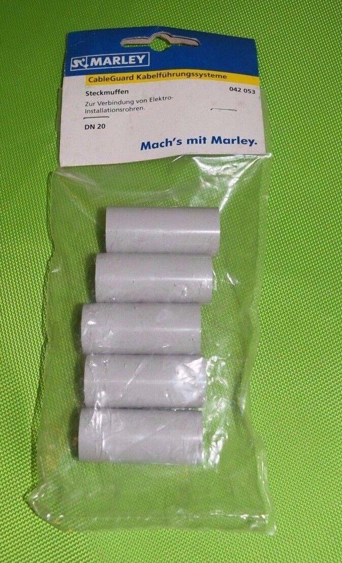 Marley Steckmuffe DN 20 CableGuard Kabelführungssystem (VE= 5 Stück) 042053 (574