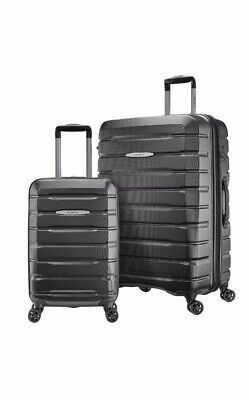 "Samsonite TECH TWO 2-Piece Hardside Luggage Set, Gray (27"" and 20"")"