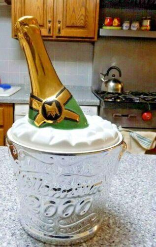 Clay Art Millennium 2000 Ice Bucket / Cookie Jar