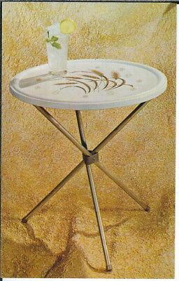BB-281 Autumn Harvest, Advertising Card for Mid Century Modern Tea Table Vintage