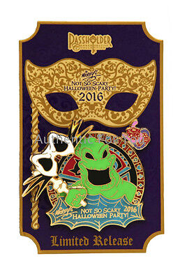 NEW 2016 Disney Mickey Scary Halloween Party MNSSHP Villains OOGIE BOOGIE LR Pin