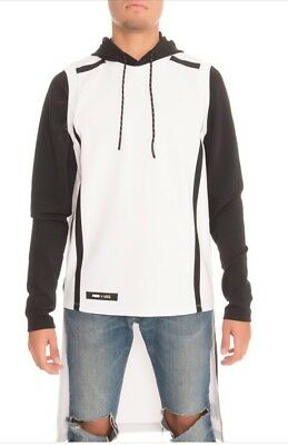 PUMA x UEG Hooded Sweatshirt White Long sz XL 571712-02 NWT New Men's