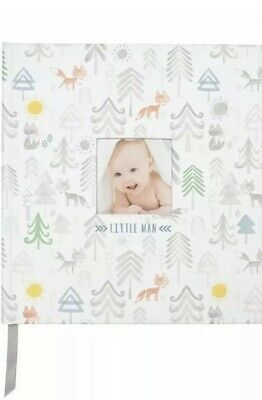 Baby Boy Memory Book Little Man C.R. Gibson Perfect-Bound Memory Keepsake Book