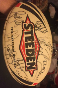 Signed 2006 Origin Replica Ball - 30  Signatures