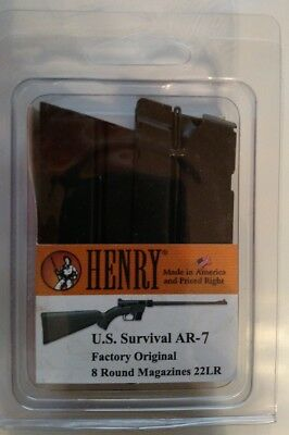 Henry Us Survival Rifle 8 Round Magazine  22 Lr 8Rd Mag Hs15 Factory New 2 Pack