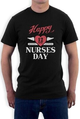 Nurses Day Gifts (Happy Nurses Day Heart Gift for Nurse T-Shirt May)