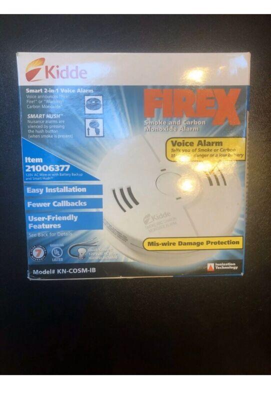 New Kidde FIREX SMOKE Carbon Monxide Alarm KN-COSM-IB