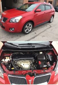 2009 PONTIAC VIBE WITH WINTER TIRES