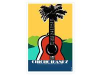 "Cuban movie Poster 4 film/""CHICHO Ibanez/""Guitar Music.Musica cubana.Art decor"