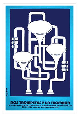 1114.Cuban movie Poster.Power to the Guitar!Music Decor.Musical Interior design
