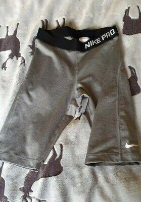 Nike Pro Running Dri Fit Running/Cycling Short Leggings Small