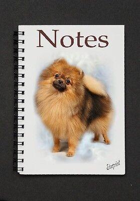 Pomeranian Dog Notebook  / Notepad By Starprint