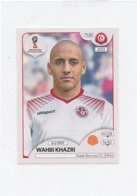 2018 PANINI STICKER FIFA WORLD CUP RUSSIA #562 WAHBI KHAZRI TUNISIA *49388