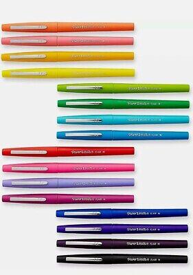Flair Felt Tip Pens Medium Point 0.7mm Assorted Colors 16 Count