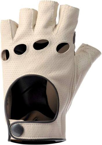 De Marchi Leather Gloves - Cream - 100% Leather