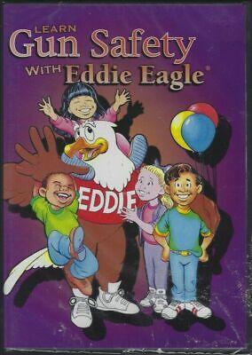Learn Gun Safety With Eddie Eagle (DVD) GunSafe Program NRA kids animated short