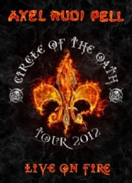 AXEL RUDI PELL - LIVE ON FIRE (CIRCLE OF THE OATH TOUR 2012)  2 DVD  ROCK  NEU