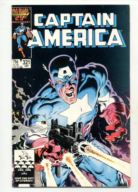 Captain America #321    Paul Leary Art