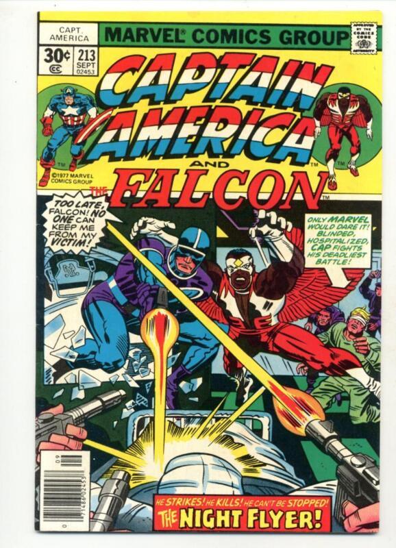 Captain America #213     Marvel 1977