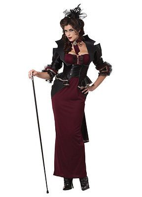 Lady of the Manor Vampire Victorian Adult Costume (Victorian Lady Adult Kostüme)