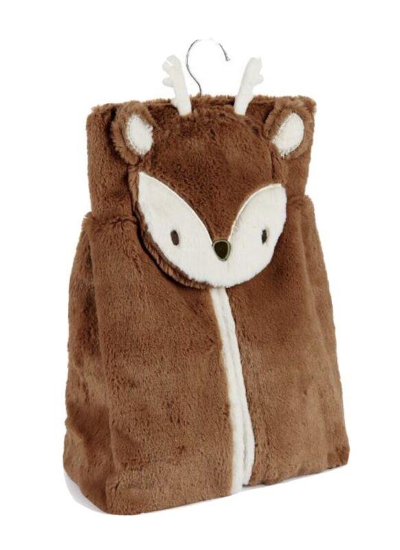 Levtex Baby - Deer Diaper Stacker Diaper Bag Brown Brand NWT Cute and Soft!