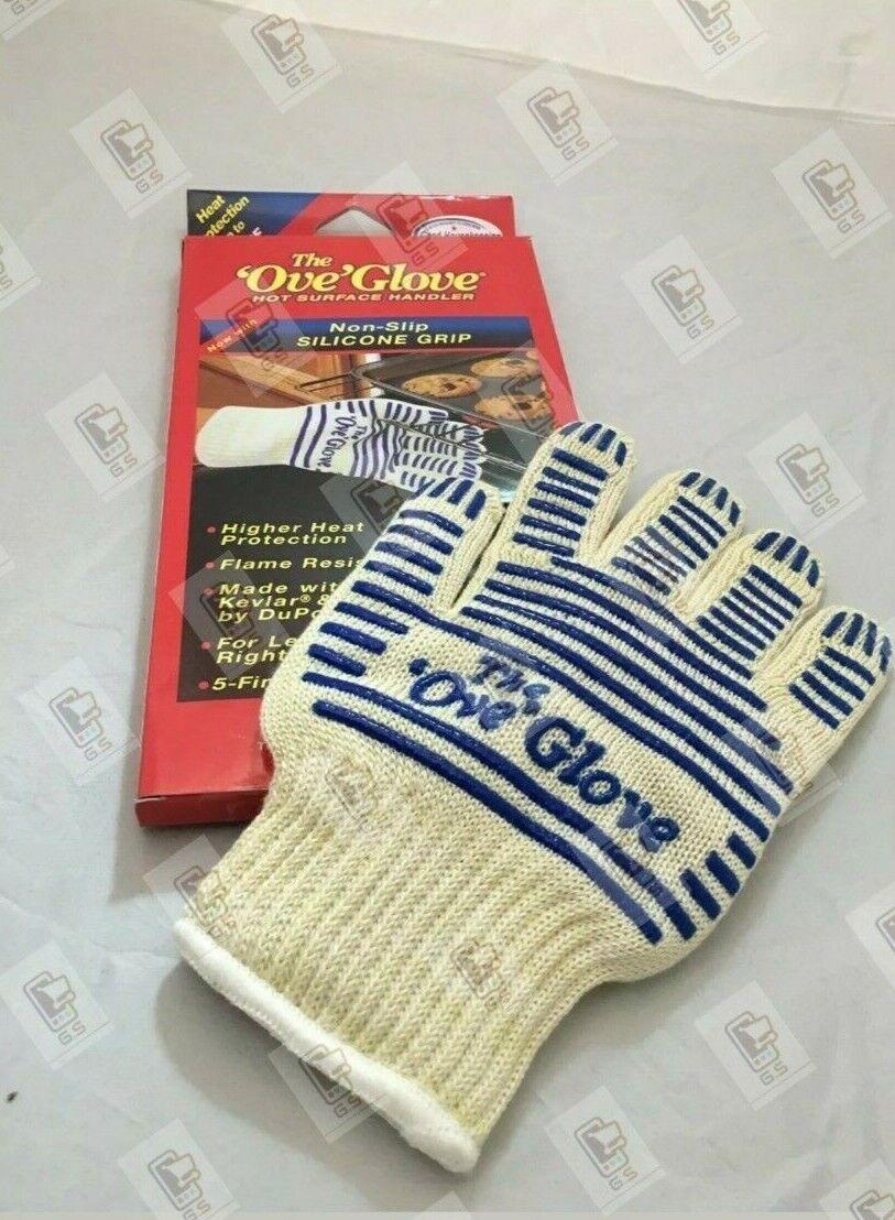 Ove Glove OVEN GLOVE Oven Kitchen Gloves Mittup To 540 Deg Washable Gift