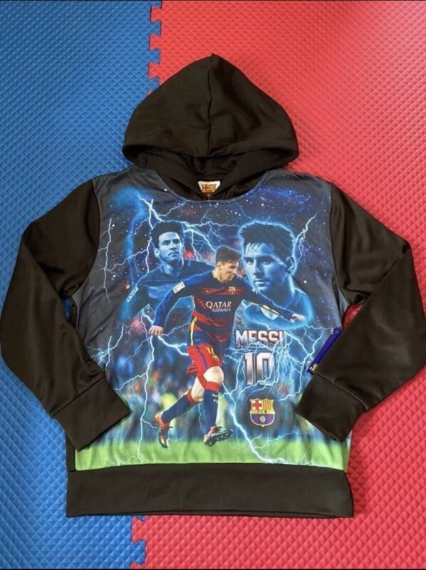 Boy clothes Messi hoodie M