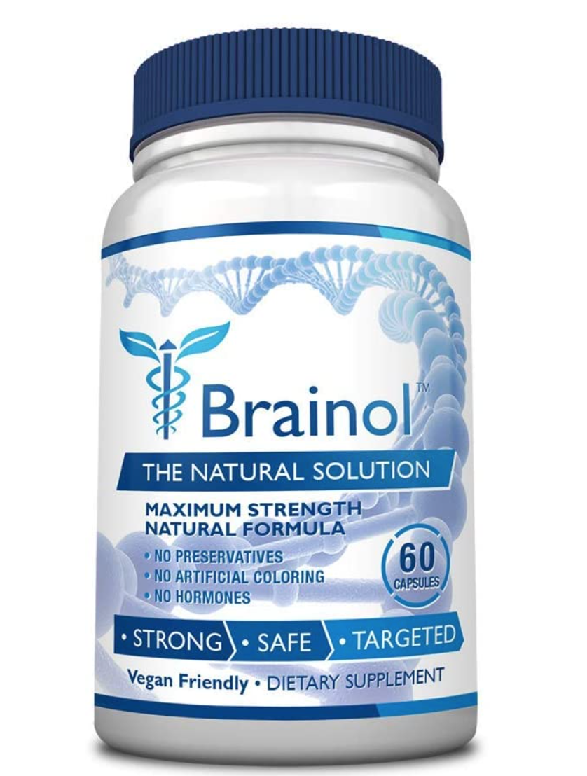 Brainol Brain Boosting Nootropic Supplement 60 Capsules - SEALED FREE SHIP