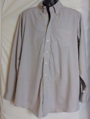 brooks brothers multi color checked cotton button front shirt size 175