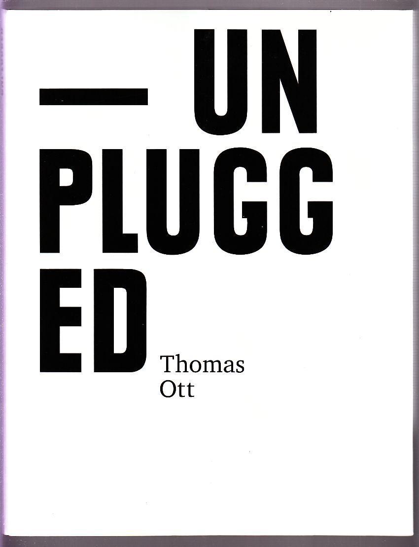 Unplugged das Skizzenbuch 1989 - 2007 Softcover von Thomas Ott in Topzustand !!!