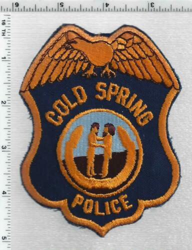 Cold Springs Police (Kentucky) 1st Issue Shoulder Patch