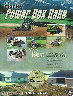 Equipment Brochure - Harley - Power Box Rake - Landscape Seedbed Prep E2722