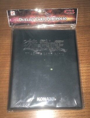 KONAMI DUELIST CARD PORTFOLIO Yu-Gi-Oh Trading Card Game New