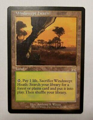1x MtG Windswept Heath - Onslaught Magic The Gathering LP fetch Land Card x1