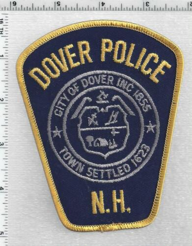 City of Dover Police (New Hampshire) 3rd Issue Shoulder Patch