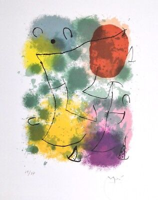 Joan Miro Hommage a Rimbaud Poster Kunstdruck Bild 30x24cm