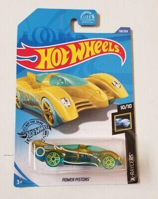 2020 Hot Wheels Treasure Hunt Power Pistons * J Case * NIP 1:64 Scale