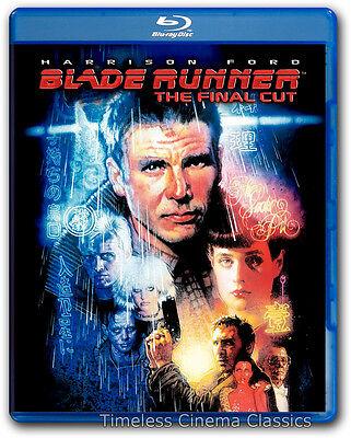 Blade Runner The Final Cut Blu-ray New Harrison Ford Rutger Hauer