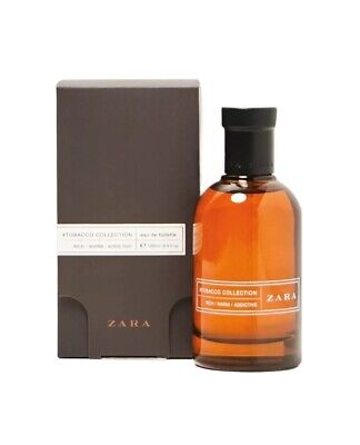 ZARA Tobacco Collection RICH WARM ADDICTIVE Men's EDT 100ml 3.4 oz - New Sealed
