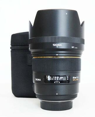 Sigma EX 85mm f/1.4 HSM DG EX Lens For For nikon