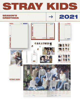 STRAY KIDS 2021 SEASON'S GREETINGS Calendar+Diary+Post Book+Card+Poster+etc+GIFT