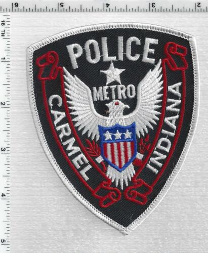 Carmel metro Police (Indiana) 2nd Issue Shoulder Patch