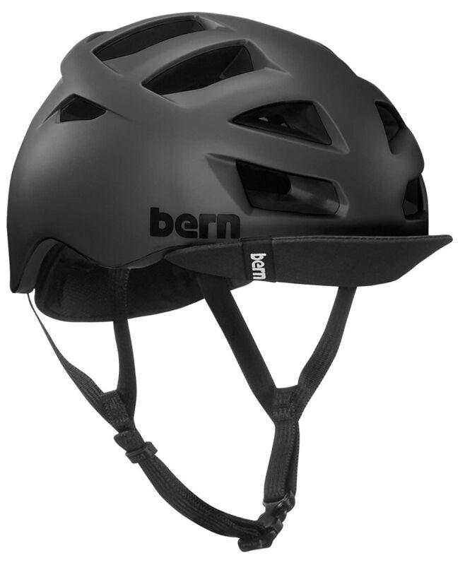 Bern Allston Bike Helmet In  Matte Blackn Adult Large  NWB