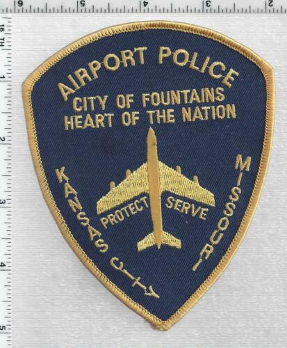 Kansas City Airport Police (Missouri) 1st Issue Shoulder Patch