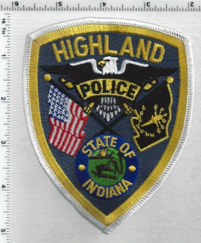 Highland Police (Indiana) 1st Issue Shoulder Patch