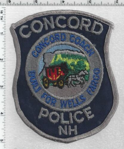 Concord Police (New Hampshire) 4th Issue Shoulder Patch