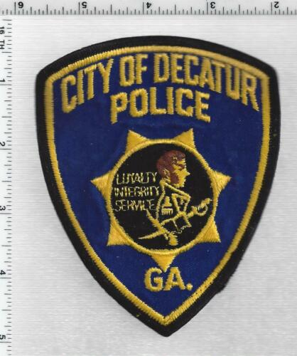 City of Decatur Police (Georgia) 2nd Issue Shoulder Patch