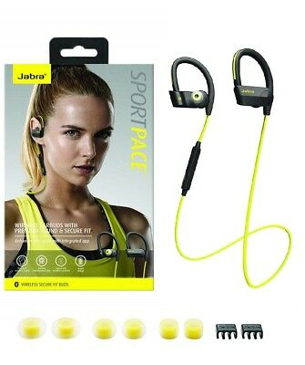 New Jabra Sport Pace Wireless Bluetooth Earbuds - US Retail Packing  for sale  Shipping to Canada