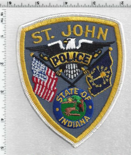St. John Police (Indiana) 2nd Issue Shoulder Patch
